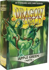 Dragon Shield - Зелёное яблоко матовые протекторы 60 штук
