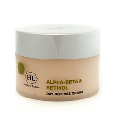 Holy Land Alpha-Beta and Retinol Day Defense Cream - Дневной защитный крем