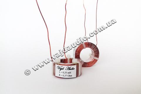 Катушка индуктивности Vajd Audio 0.33 mH* 0.37 Оhm* 0.8 mm