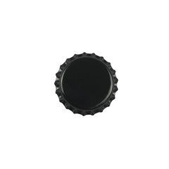 Кроненпробки черные 26 мм, 80 шт