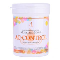 Anskin Original AC Control Modeling Mask - Маска альгинатная для проблемной кожи с акне