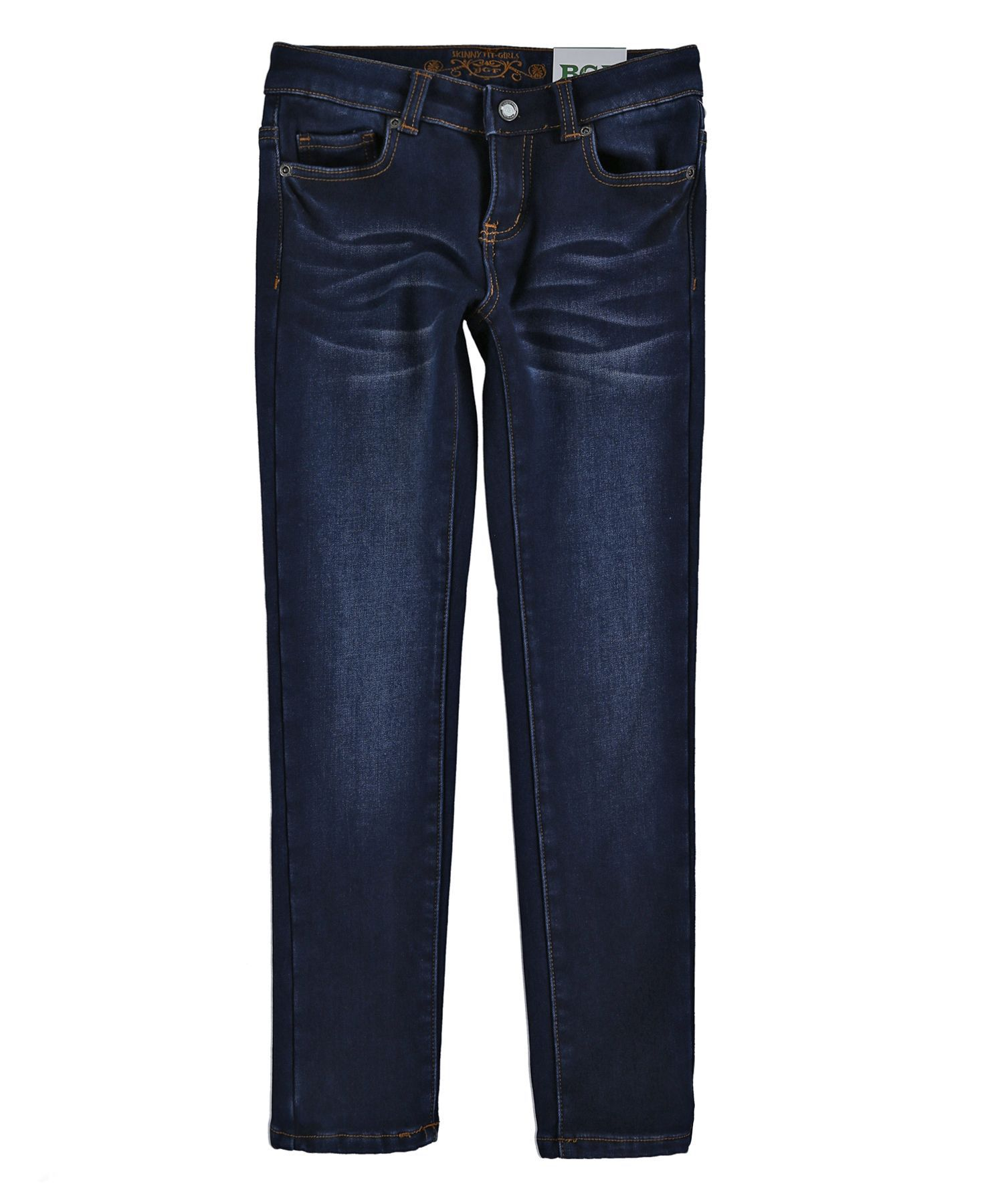 Утепленные водо- и грязеотталкивающие джинсы для девочки 410144/316/275