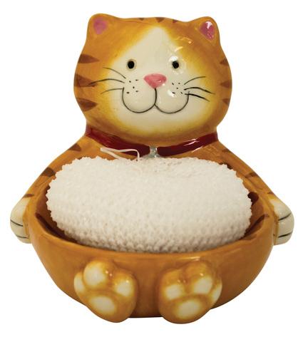 Держатель для губок/мочалок Boston Warehouse Cat