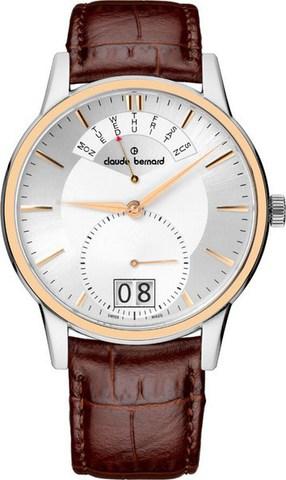 Купить мужские наручные часы Claude Bernard 34004 357R AIR по доступной цене