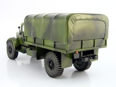 MAZ-502 with tent camouflage 1:43 workshop