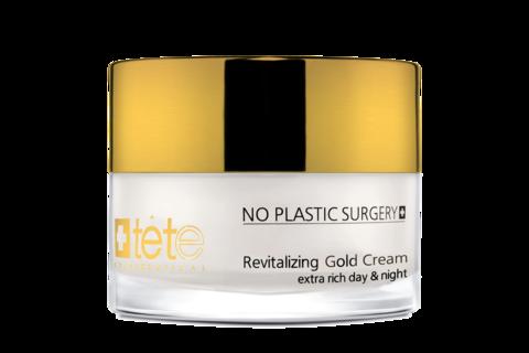 Tete Revitalizing Gold Cream - Омолаживайщий крем с коллоидным золотом