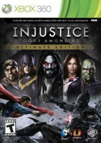 Xbox 360 Injustice: Gods Among Us Ultimate Edition (русские субтитры)