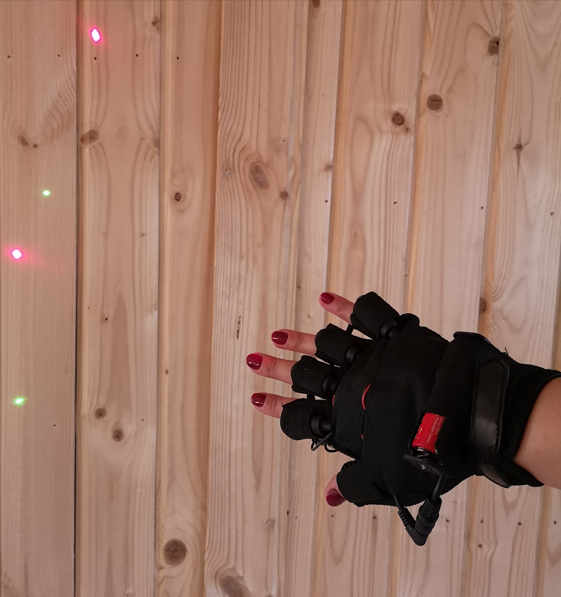 Red-Green Laser Gloves, foto 4