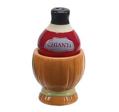 Набор солонка и перечница Boston Warehouse Wine & Cheese Chianti