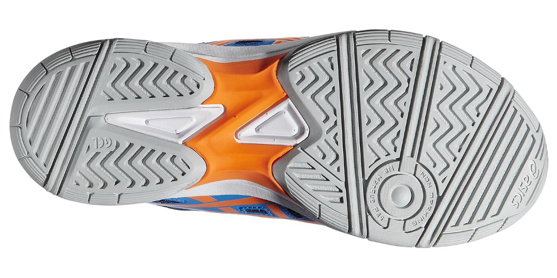 Детские волейбольные кроссовки Asics Gel-Beyond GS (C453N 4130) синие фото
