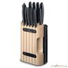 Набор ножей Victorinox Swiss Classic в подставке 11 шт черный (6.7153.11) victorinox нож разделочный victorinox swiss classic оранжевый 19 см