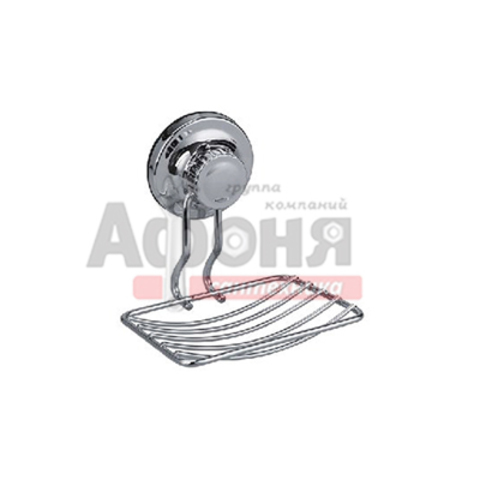 3702-1/L Мыльница металическая на присосках