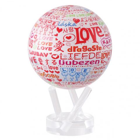 Глобус MOVA GLOBE I love you d12 см
