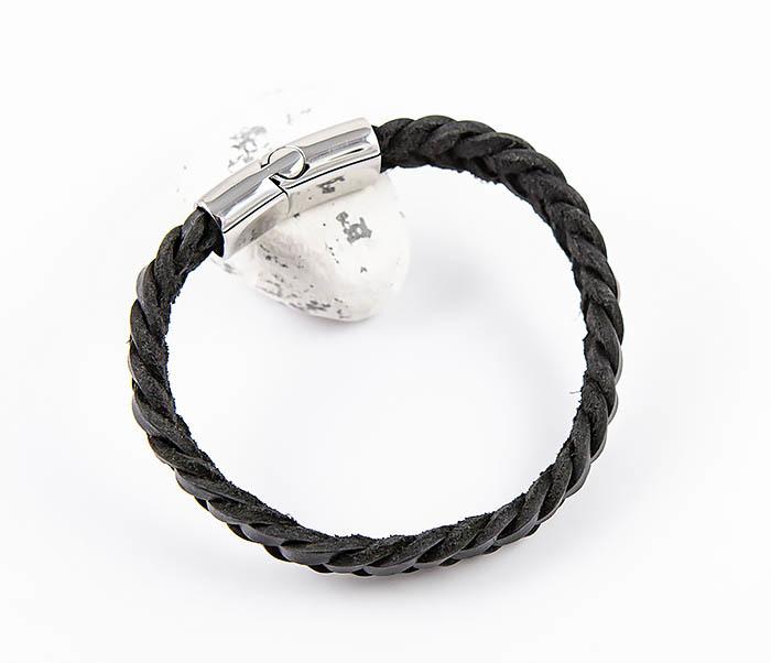 BM568-1 Плетеный браслет из натуральной кожи фото 06