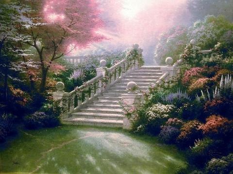 Садовая лестница (Strairway to Paradise)