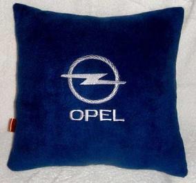 Подушка автомобильная с логотипом OPEL