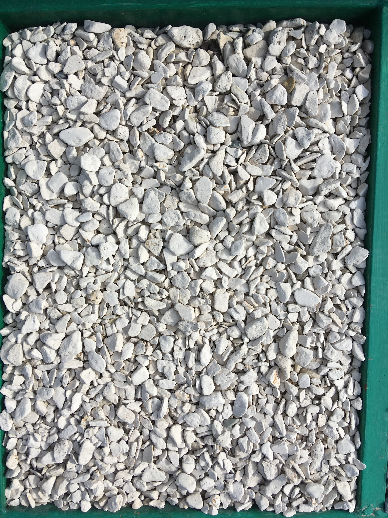 Галька декоративный щебень Бежевый 5-10 мм
