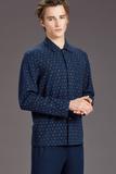Теплая мужская пижама Trussardi