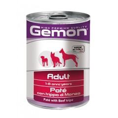 Gemon dog with Beef tripe консервы для собак паштет говяжий рубец
