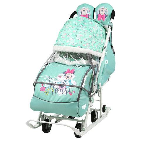 Санки-коляска Ника Disney baby 2 Новинка 2018г-2019г