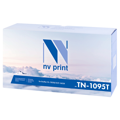 Картридж NVP NV-TN1095T для принтеров Brother