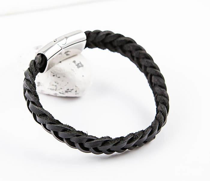 BM568-1 Плетеный браслет из натуральной кожи фото 07