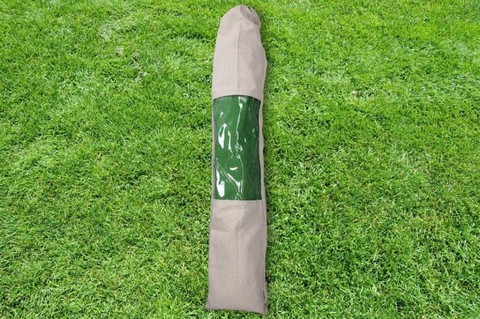 Гамак из льна с планкой  зеленый RG14Z
