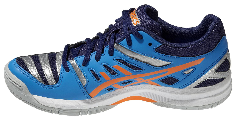 Детские кроссовки для волейбола Асикс Gel-Beyond GS (C453N 4130) синие фото