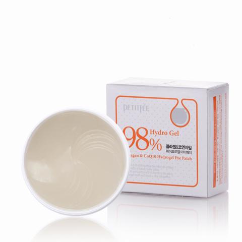 Petitfee Collagen & Co Q10 Eye Patch Гидрогелевые патчи для глаз