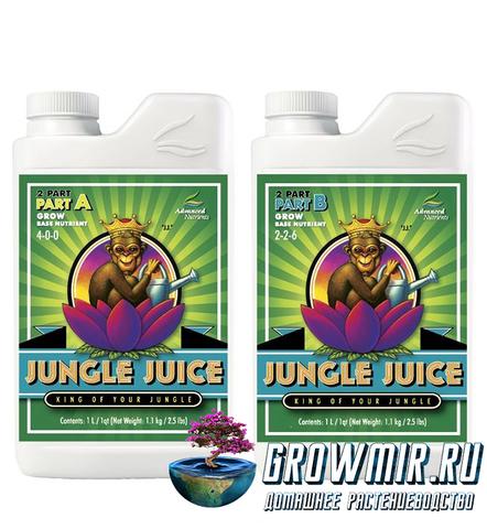Advanced Nutrients Jungle juice 2-parts A & B Grow (1л)