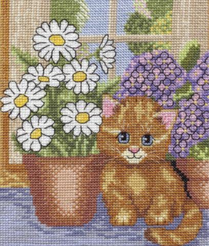 8-005 Кот на окошке
