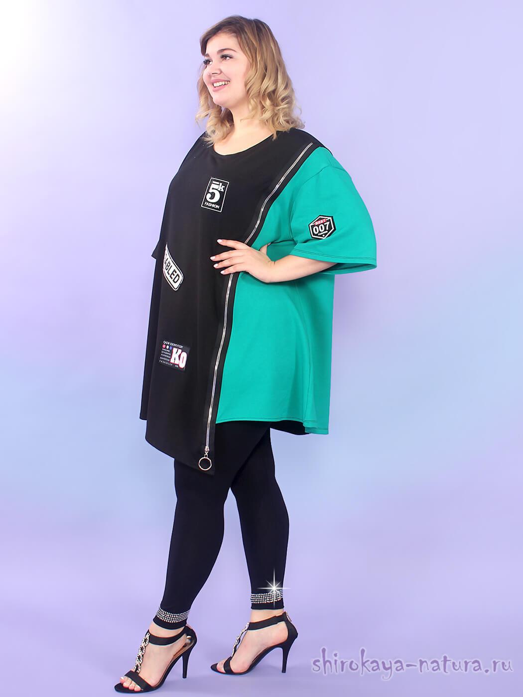 Платье-туника Зигана