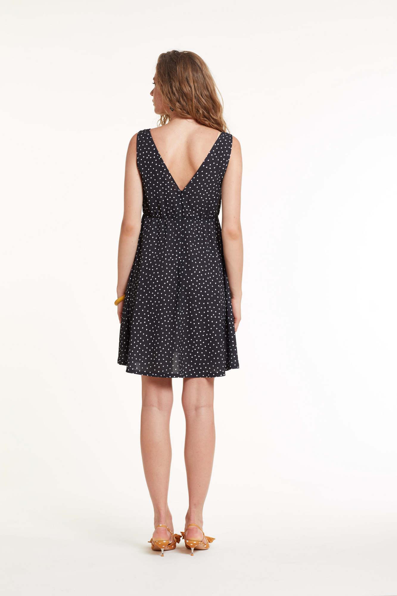 Платье для беременных и кормящих 11447 черный