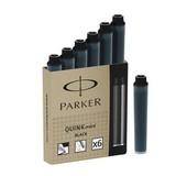 Мини-картридж с чернилами для перьевых ручек Parker Quink Cartridge — Mini Black S0767220