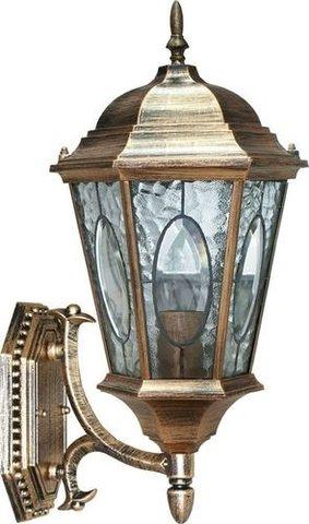 Светильник садово-парковый, 60W 230V E27 черное золото, PL150 (Feron)