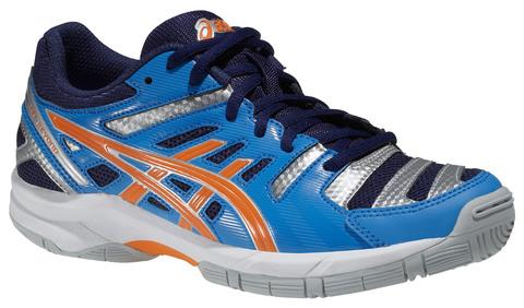 Детские волейбольные кроссовки Asics Gel-Beyond GS синие
