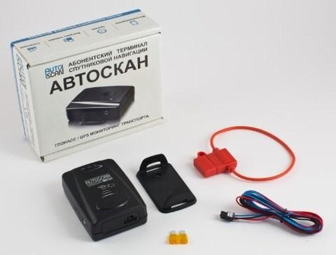 Автомобильный GPS/ГЛОНАСС трекер АВТОСКАН А-100M