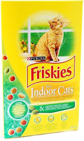 Friskies Сухой корм для домашних кошек, 400г