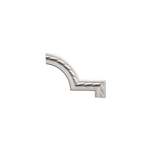 Угловой элемент Европласт из полиуретана 1.52.296, интернет магазин Волео