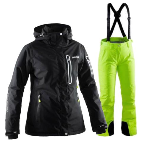 8848 Altitude Aruba/Winity женский горнолыжный костюм лайм