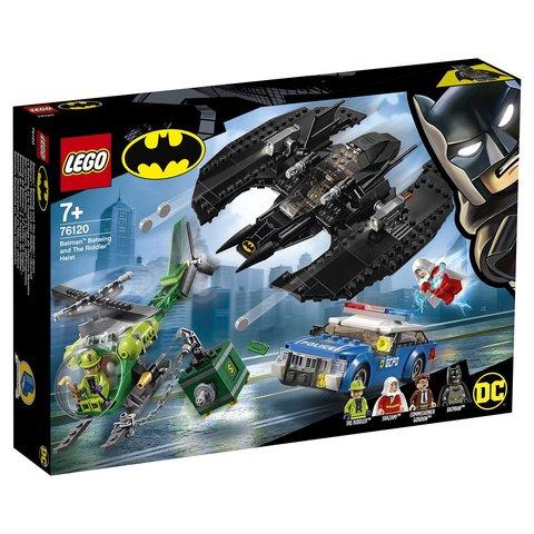 LEGO Super Heroes: Бэткрыло Бэтмена и ограбление Загадочника 76120 — Batwing and The Riddler Heist — Лего Супер Герои ДиСи