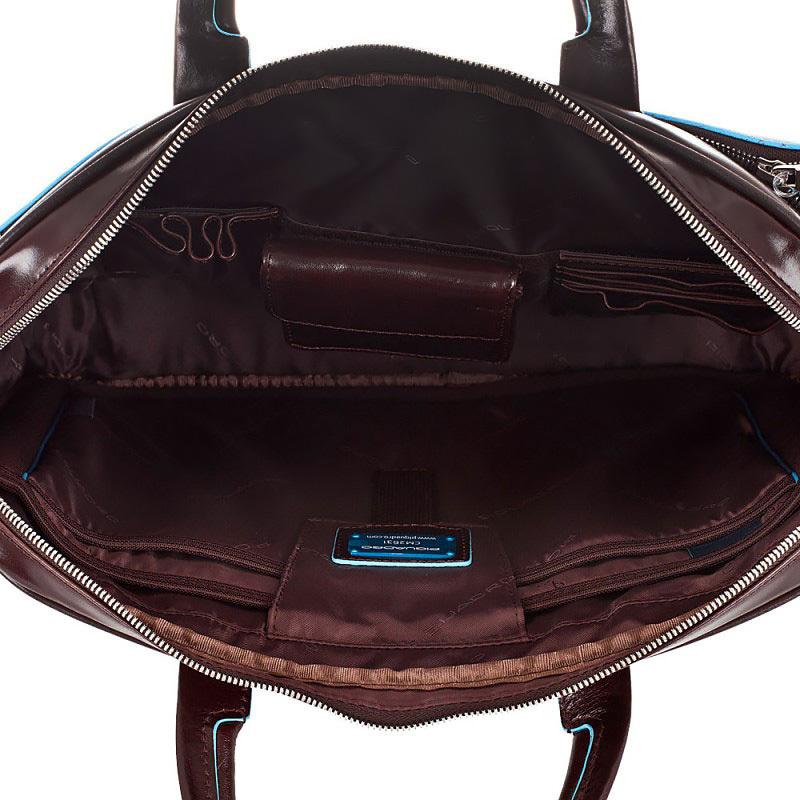 Сумка Piquadro Blue Square, цвет коричневый, 29x39,5x7 см (CCA1903B2/MO)