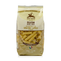 Макаронные изделия, Alce Nero, РИГАТОНИ из твердых сортов пшеницы Senatore Cappelli, 500 г