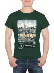 17623-2 футболка мужская, зеленая