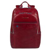 Рюкзак Piquadro Blue Square красный телячья кожа (CA3214B2/R)