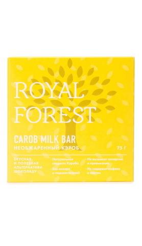 Шоколад из необжаренного кэроба 75 г, Royal-forest