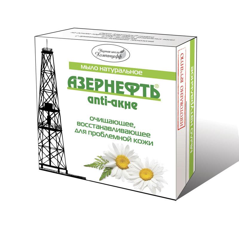 Азернефть-Нафталан мыло анти-акне 95 г.