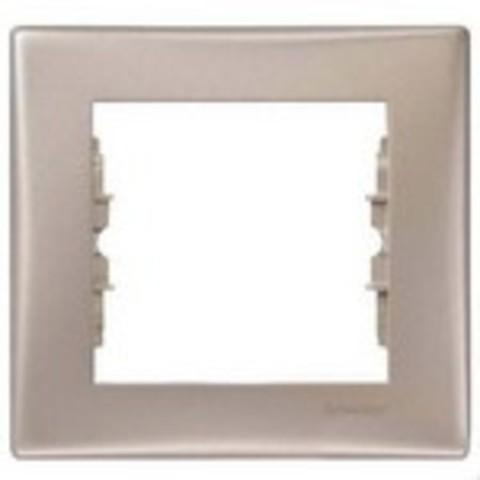 Рамка на 1 пост. Цвет титан. Schneider Electric Sedna. SDN5800168