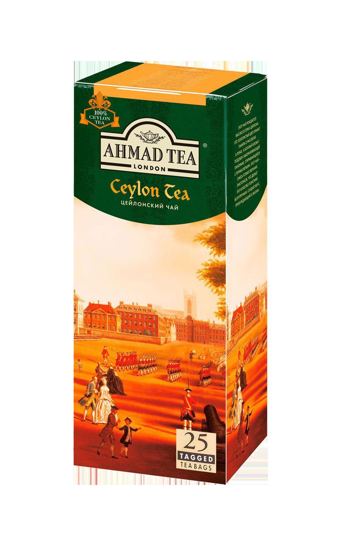 Ahmad tea Ceylon в пакетиках, 25 шт