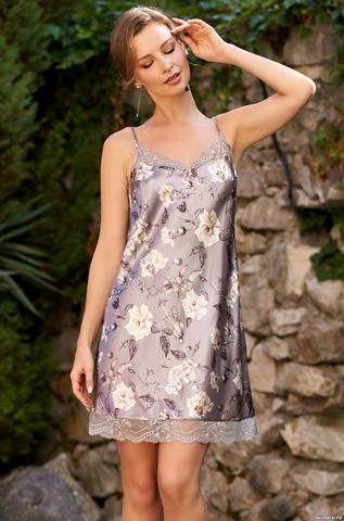 Сорочка Mia Amore с принтом 3580 (70% натуральный шелк)